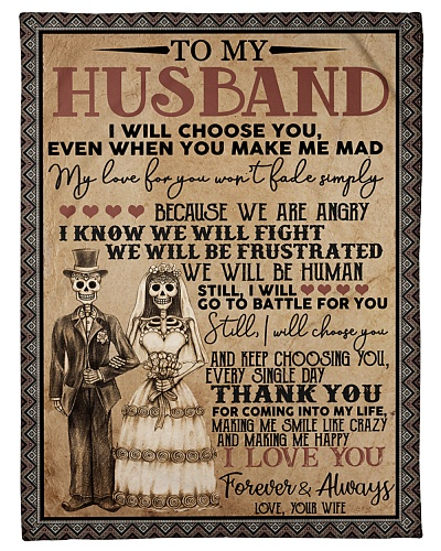 To my husband T4-168
