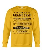 I'm a lucky man - T10 Crewneck Sweatshirt thumbnail