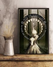INTO THE FOREST I GO - A 11x17 Poster lifestyle-poster-3