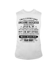 I'm a lucky dad - T07 July Sleeveless Tee thumbnail