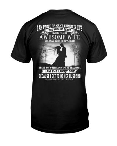 Proud Husband - T11 Wife