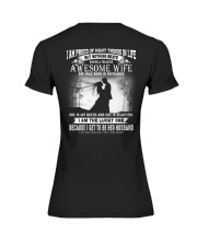 Proud Husband - T11 Wife Premium Fit Ladies Tee thumbnail