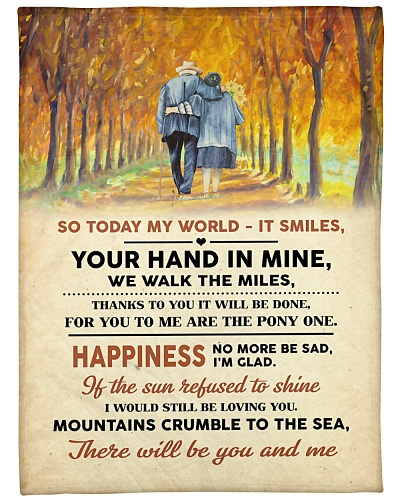 Your hand in mine perfect gift for love one