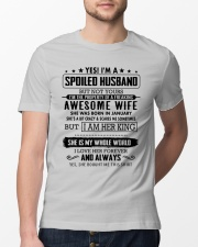 spoiled husband- January Classic T-Shirt lifestyle-mens-crewneck-front-13