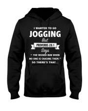 I wanted to go jogging but --- SO there's that CT Hooded Sweatshirt thumbnail