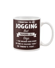 I wanted to go jogging but --- SO there's that CT Mug thumbnail