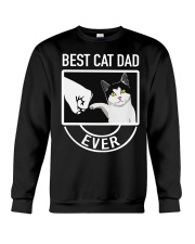 Best Cat Dad Ever Crewneck Sweatshirt thumbnail
