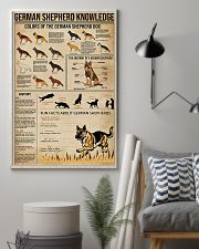 German shepherd knowledge Fun facts knowledge 11x17 Poster lifestyle-poster-1