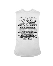 DAUGHTER TO DAD - D FEBRUARY Sleeveless Tee thumbnail