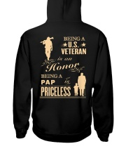 Being a US Veteran is an Honor Hooded Sweatshirt thumbnail