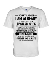 Special gift for Husband- Presents to your Husband V-Neck T-Shirt thumbnail