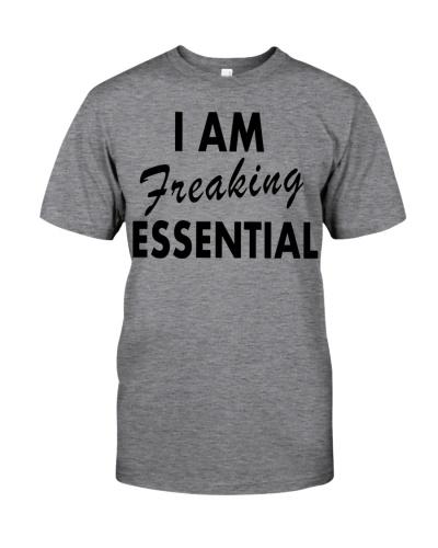 I'm freaking essential