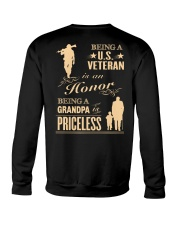 Being a US Veteran is an Honor Crewneck Sweatshirt thumbnail