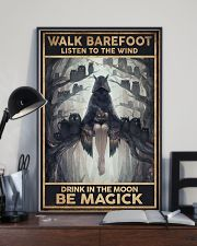 walk barefoot  - A 11x17 Poster lifestyle-poster-2