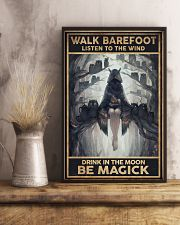 walk barefoot  - A 11x17 Poster lifestyle-poster-3