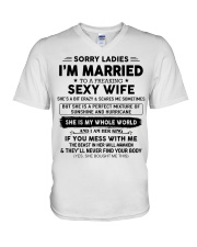 Perfect gift for husband CH00 V-Neck T-Shirt thumbnail