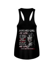For January Girl- Take it now - Kun 01 Ladies Flowy Tank tile