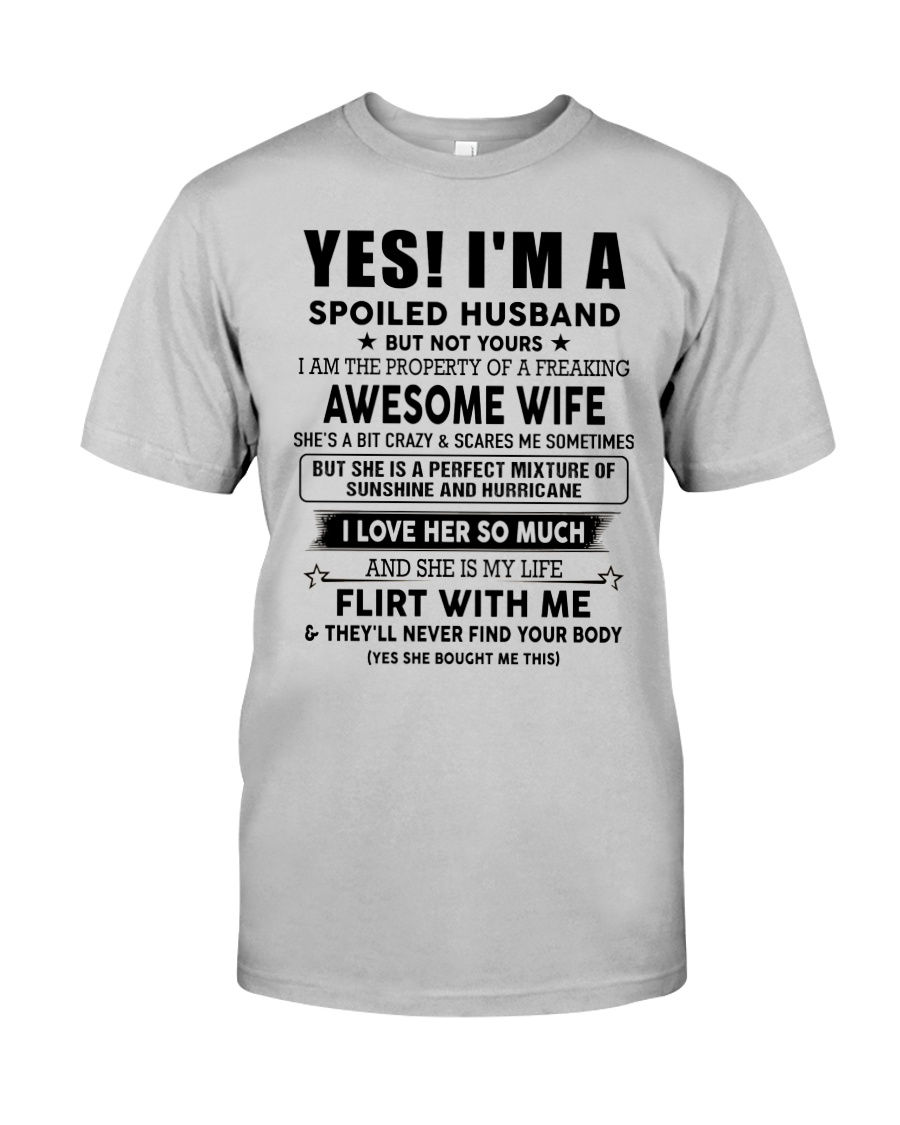 Perfect gift for husband AH00up1 Classic T-Shirt