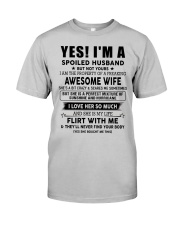 Perfect gift for husband AH00up1 Classic T-Shirt front
