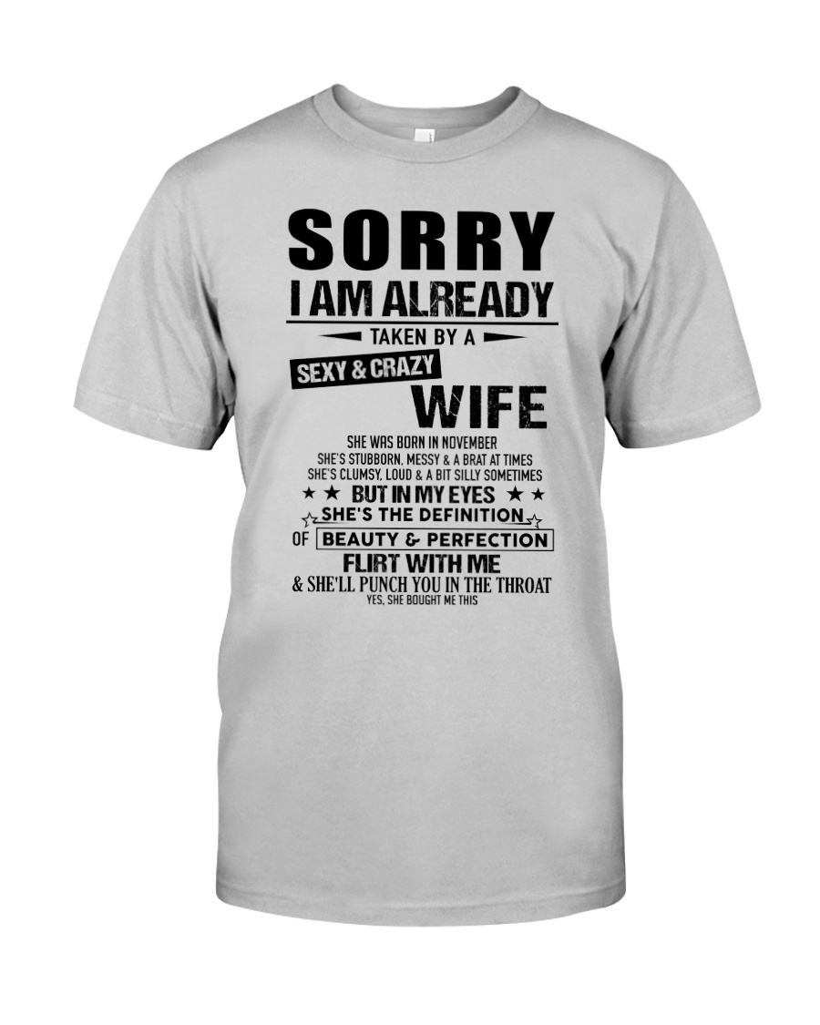 Gift for Boyfriend -  wife - TINH11 Classic T-Shirt