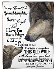 """To my granddaughter ever forget that i love you Small Fleece Blanket - 30"""" x 40"""" front"""