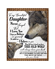 To my dear daughter never forget that i love you Quilt tile