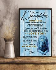 DAD TO  DAUGHTER - A 11x17 Poster lifestyle-poster-3