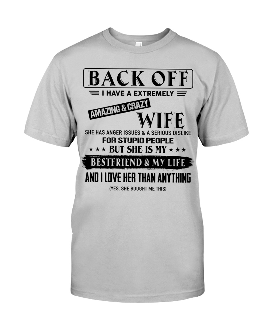 Tung Store - Perfect gift for Husband T5-27 Classic T-Shirt