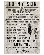 Tung store To my son T0 T1-14 Vertical Poster tile