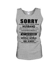 HUSBAND TO WIFE D2 Unisex Tank thumbnail