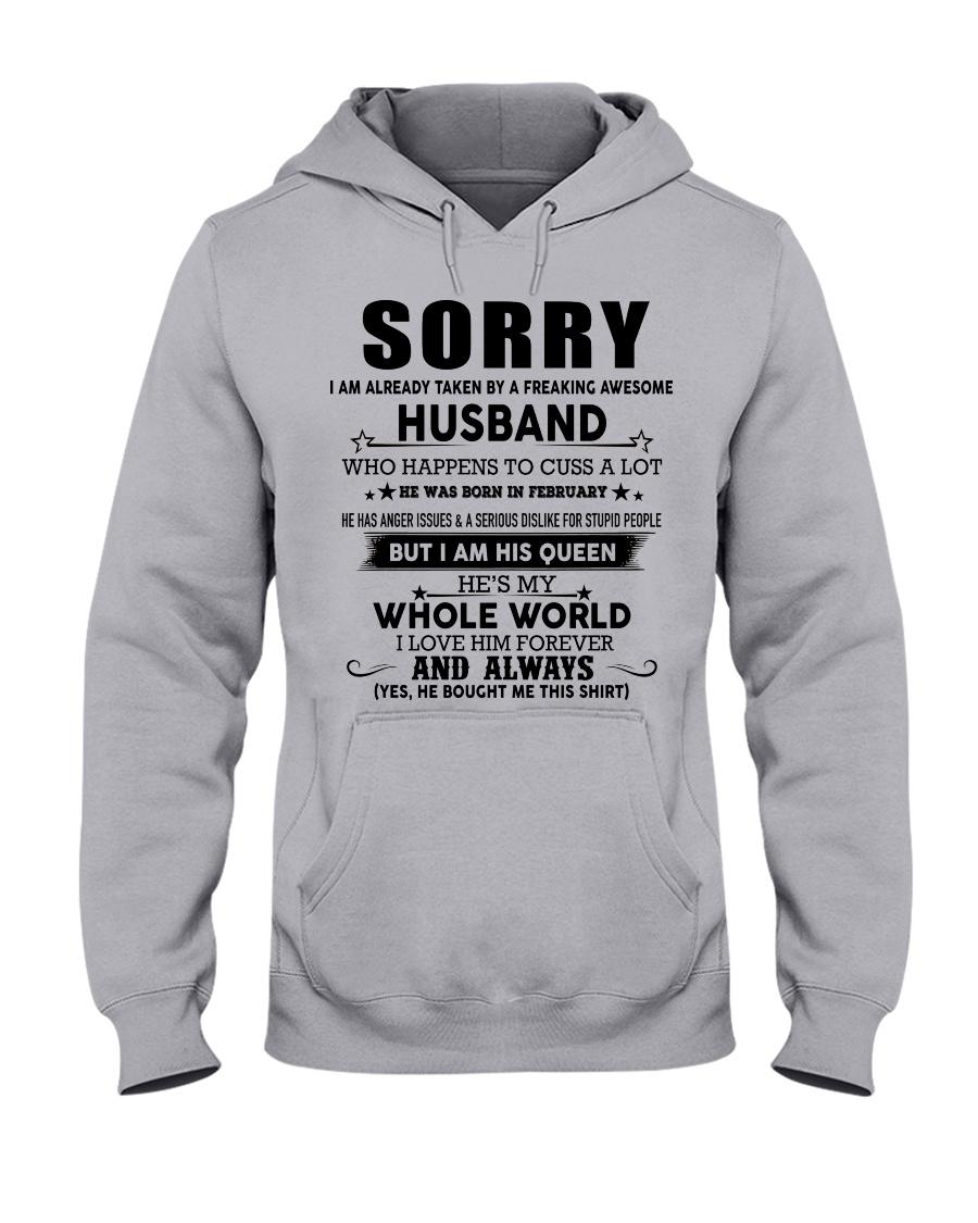 HUSBAND TO WIFE D2 Hooded Sweatshirt