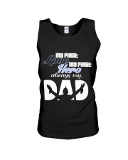 My First Love My First Hero Always My Dad Unisex Tank thumbnail