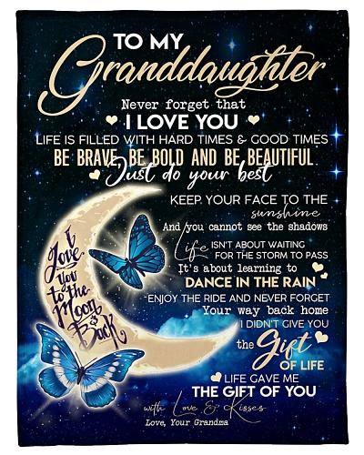Special gift for your granddaughter - nok Blanket