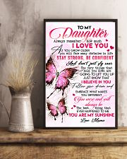 Special gift for daughter - C 110 11x17 Poster lifestyle-poster-3
