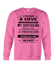 Perfect gifts for Girlfriend - August Crewneck Sweatshirt thumbnail