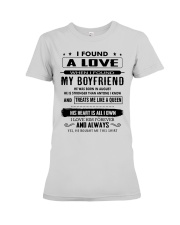Perfect gifts for Girlfriend - August Premium Fit Ladies Tee thumbnail