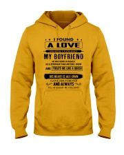 Perfect gifts for Girlfriend - August Hooded Sweatshirt thumbnail