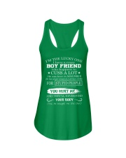 I have crazy boyfriend 11 Ladies Flowy Tank thumbnail