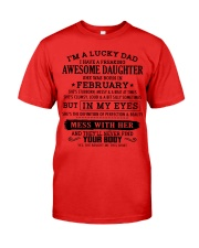 I'm a lucky dad - T02 February Premium Fit Mens Tee thumbnail