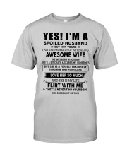 Perfect gift for husband AH010up1 Classic T-Shirt front
