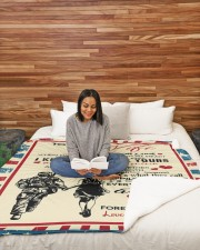 """Special gift for your WIFE  Large Sherpa Fleece Blanket - 60"""" x 80"""" aos-sherpa-fleece-blanket-60x80-lifestyle-front-08"""