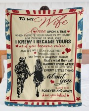 """Special gift for your WIFE  Large Sherpa Fleece Blanket - 60"""" x 80"""" aos-sherpa-fleece-blanket-60x80-lifestyle-front-23"""