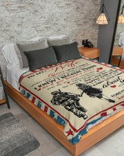"""Special gift for your WIFE  Large Sherpa Fleece Blanket - 60"""" x 80"""" aos-sherpa-fleece-blanket-lifestyle-front-04"""