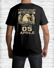 05 APRIL Classic T-Shirt lifestyle-mens-crewneck-back-1