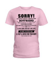 The perfect gift for your girlfriend - D10 Ladies T-Shirt front