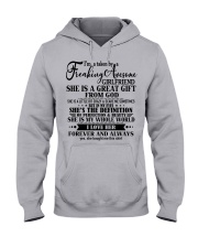 The perfect gift for your girlfriends - nok00 Hooded Sweatshirt front