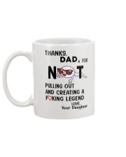 Thanks dad for not pulling out - Ruby Mug back