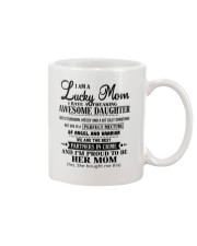 I am a Lucky Mom- I have an Awesome Daughter- Uni0 Mug thumbnail