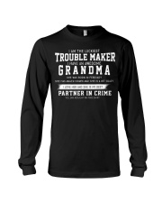 I'M THE LUCKIEST TROUBLE MAKER - FEBRUARY Long Sleeve Tee thumbnail