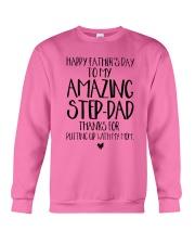 STEP DAD - FATHER DAY - NEW Crewneck Sweatshirt thumbnail